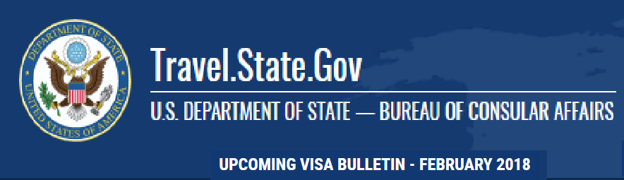 Visa Bulletin For February 2018 - Wilner and O'Reilly - Immigration